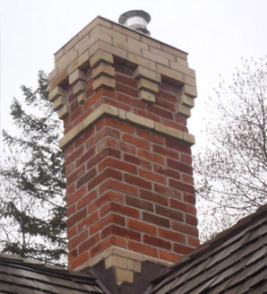 Chimney masonry repair
