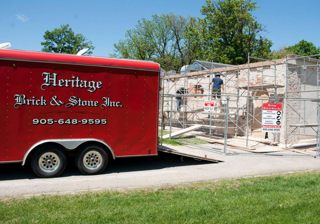 Historic Masonry Restoration